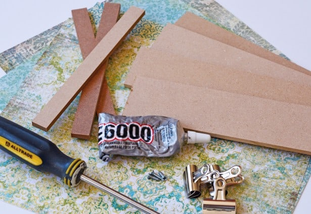 Easy DIY Photo Display Board Supplies Cheltenham Road Tutorial for Mod Podge Rocks