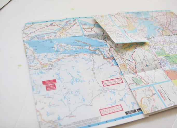 folded maps
