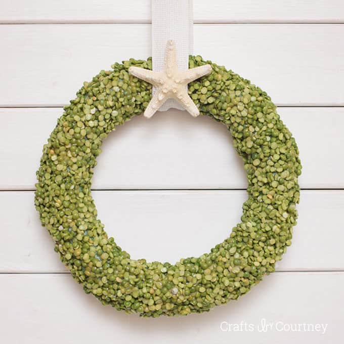 DIY dollar store wreath for summer