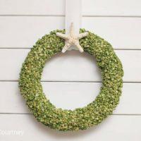 Split Pea Summer Wreath in Four Easy Steps