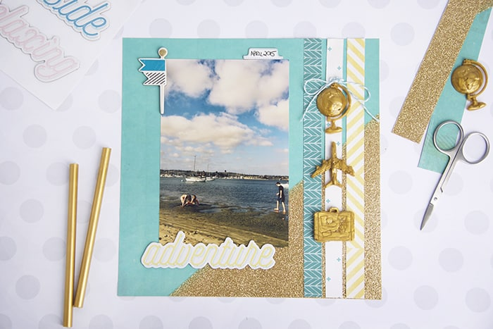 Learn how to make scrapbook embellishments with Mod Melts and Molds! Perfect for capturing your memories on a pretty page.