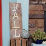Easy DIY sign for fall