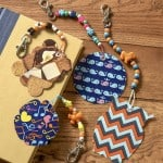 Duck tape craft: make backpack charms