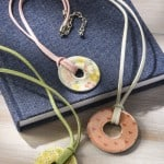 Easy Washer Necklaces with Dimensional Magic