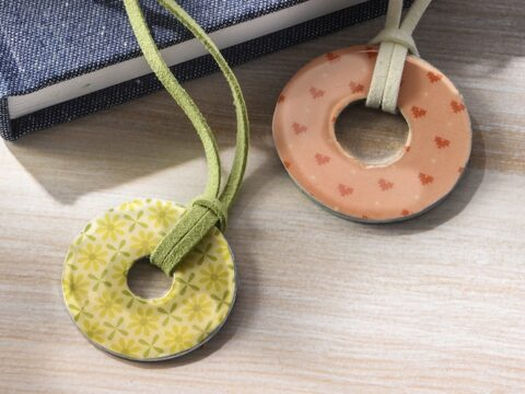 Easy Washer Necklaces With Dimensional Magic Mod Podge Rocks