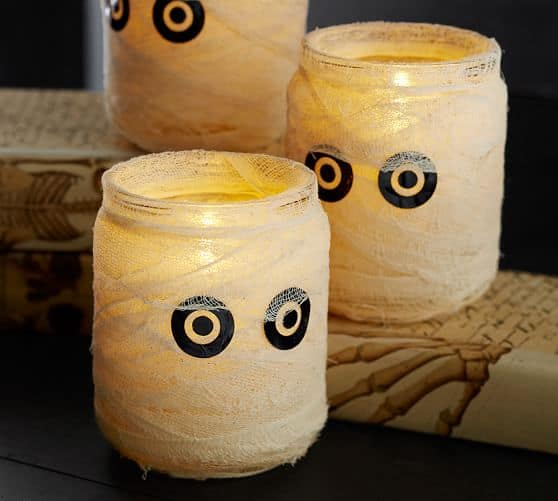 Pottery Barn Mummy Luminaries
