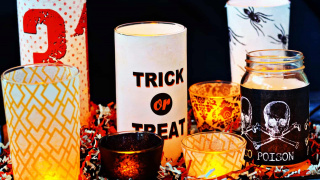 Make a Halloween Centerpiece in Four Simple Steps!