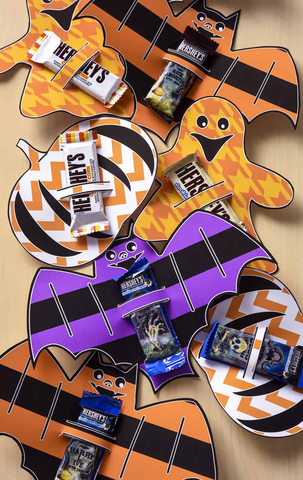 picture regarding Printable Hershey Bar Wrappers referred to as Cost-free Printable Halloween Sweet Bar Wrappers - Mod Podge Rocks