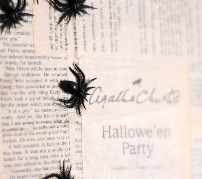 agatha christie halloween art