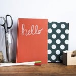 Turn old books into functional decor with Mod Podge chalkboard medium! Use them for notes or just as a pretty display that you can draw on.