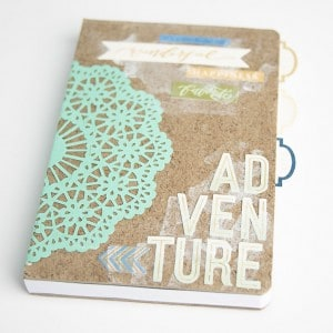 DIY gift idea: adventure notebook