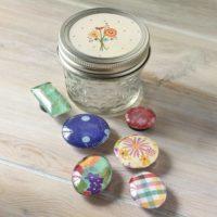 Mason Jar Gifts: Easy Handmade Magnets