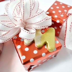 Easy initial salt dough ornaments and gi...