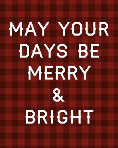 Merry & Bright Canvas