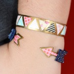 Easy decoupaged brass DIY bracelets
