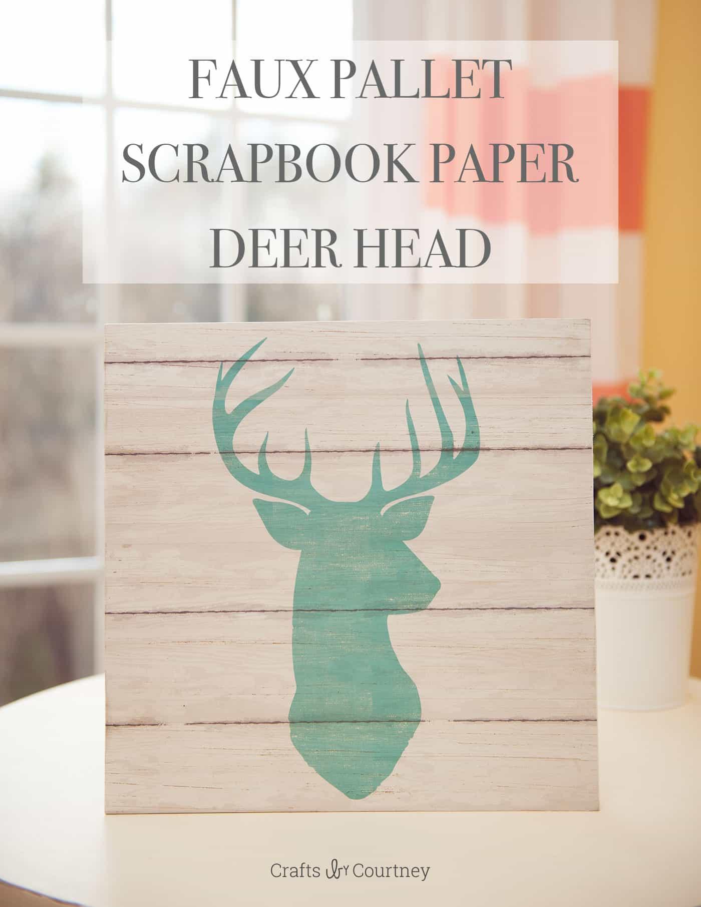 Diy Wall Art With Scrapbook Paper : Easy diy wall art with scrapbook paper mod podge rocks