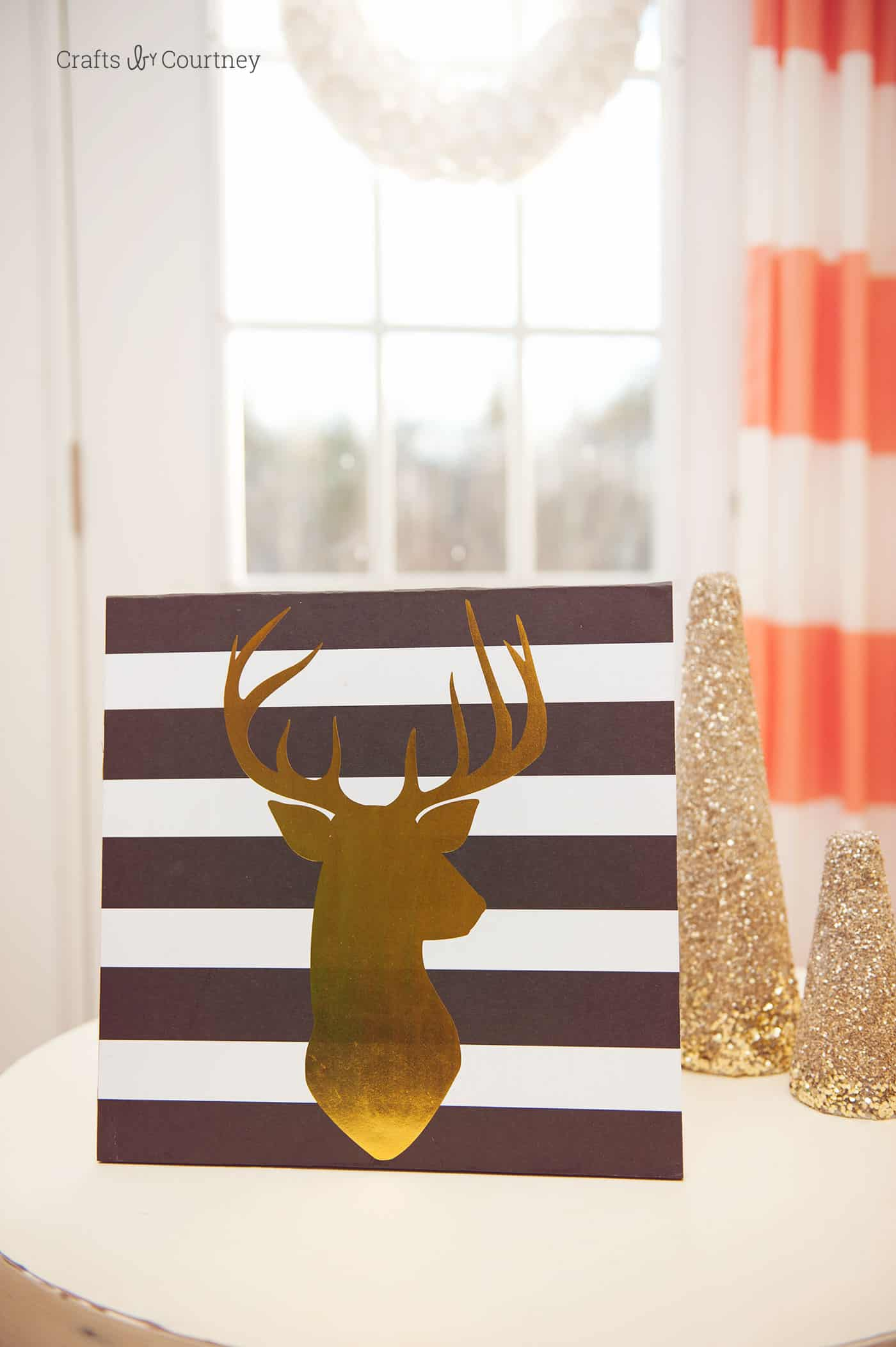 Simple Use cool scrapbook paper and cut pieces of wood to make fabulous DIY wall art in