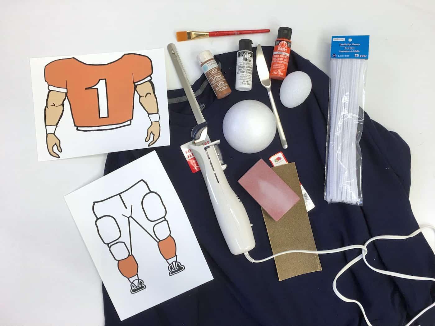 Football head materials