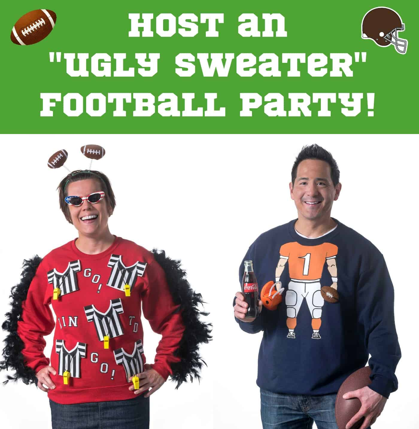 Host an ugly seater football party