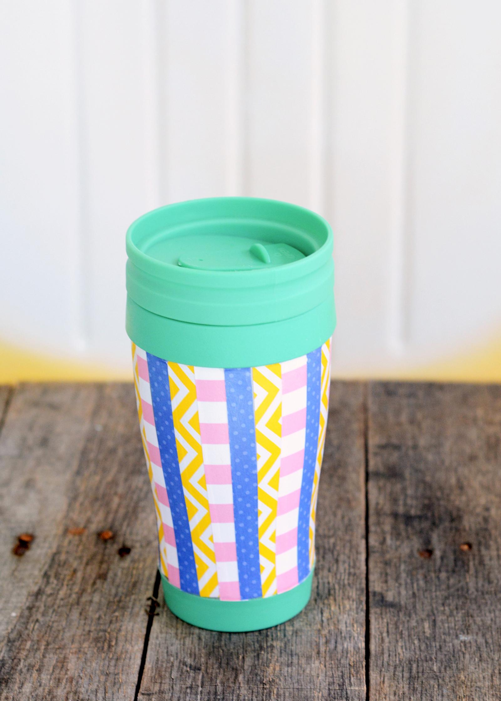 Easy DIY Travel Mug on a Budget