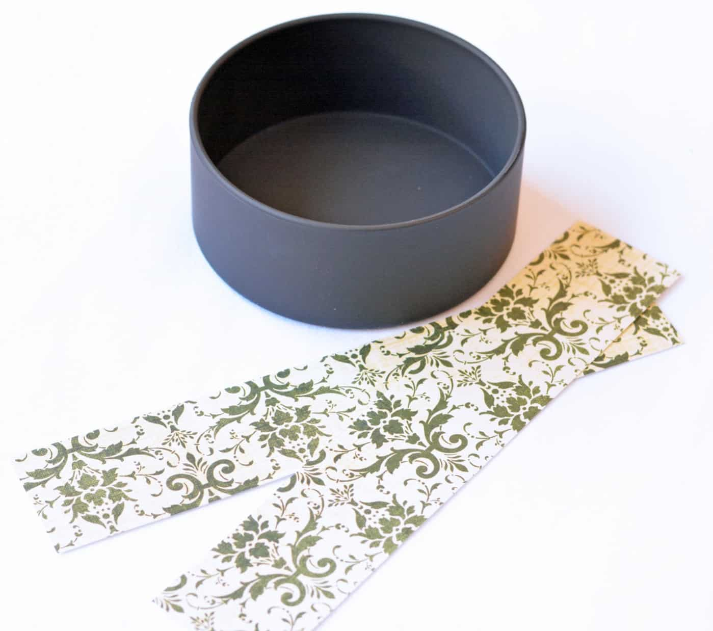 """Use a 4"""" PVC pipe cap to make a unique wine bottle coaster! It's perfect for parties and you can't even tell it's plastic when you're done."""