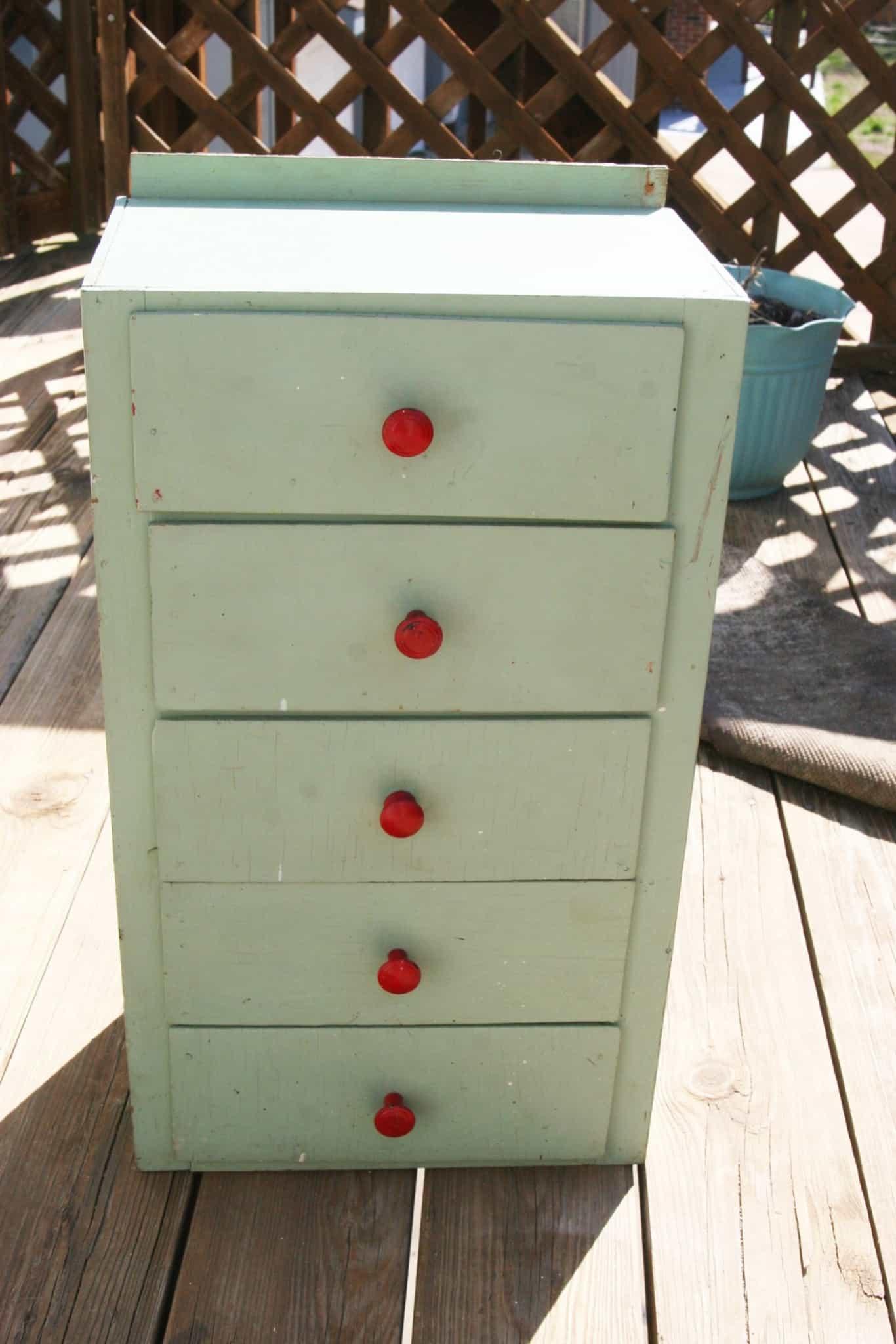 Old child's dresser