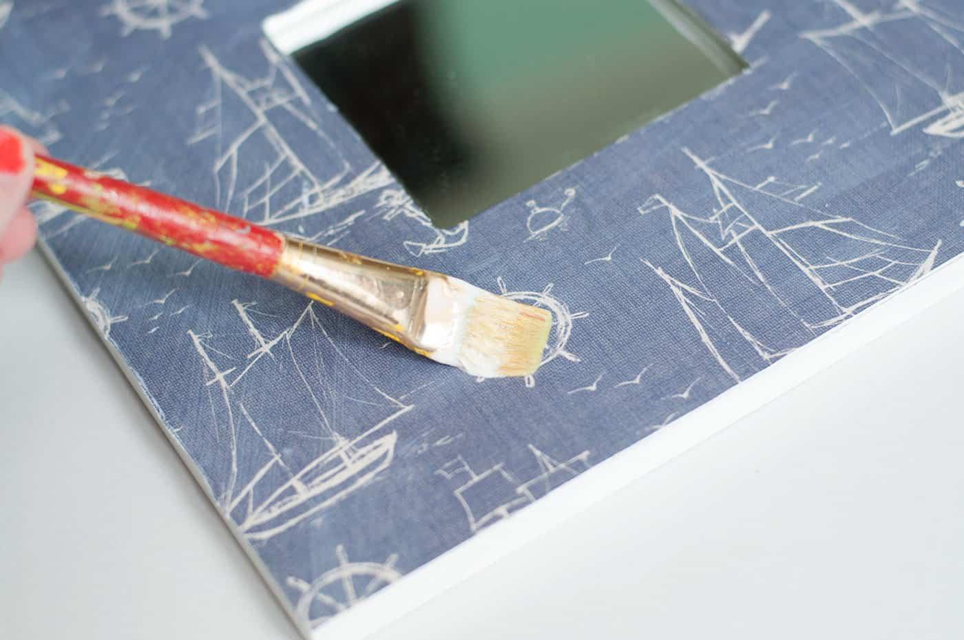 Nautical Ikea Frame Makeover