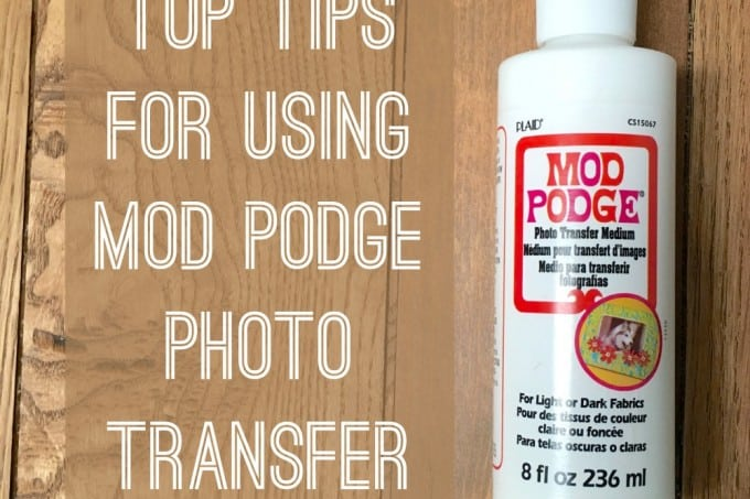If you are wondering how to use Mod Podge photo transfer medium, here are all of my top tips. Learn how to be successful with this article!
