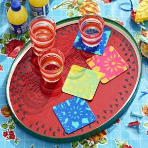 Cute Cinco de Mayo crafts: coasters and ...