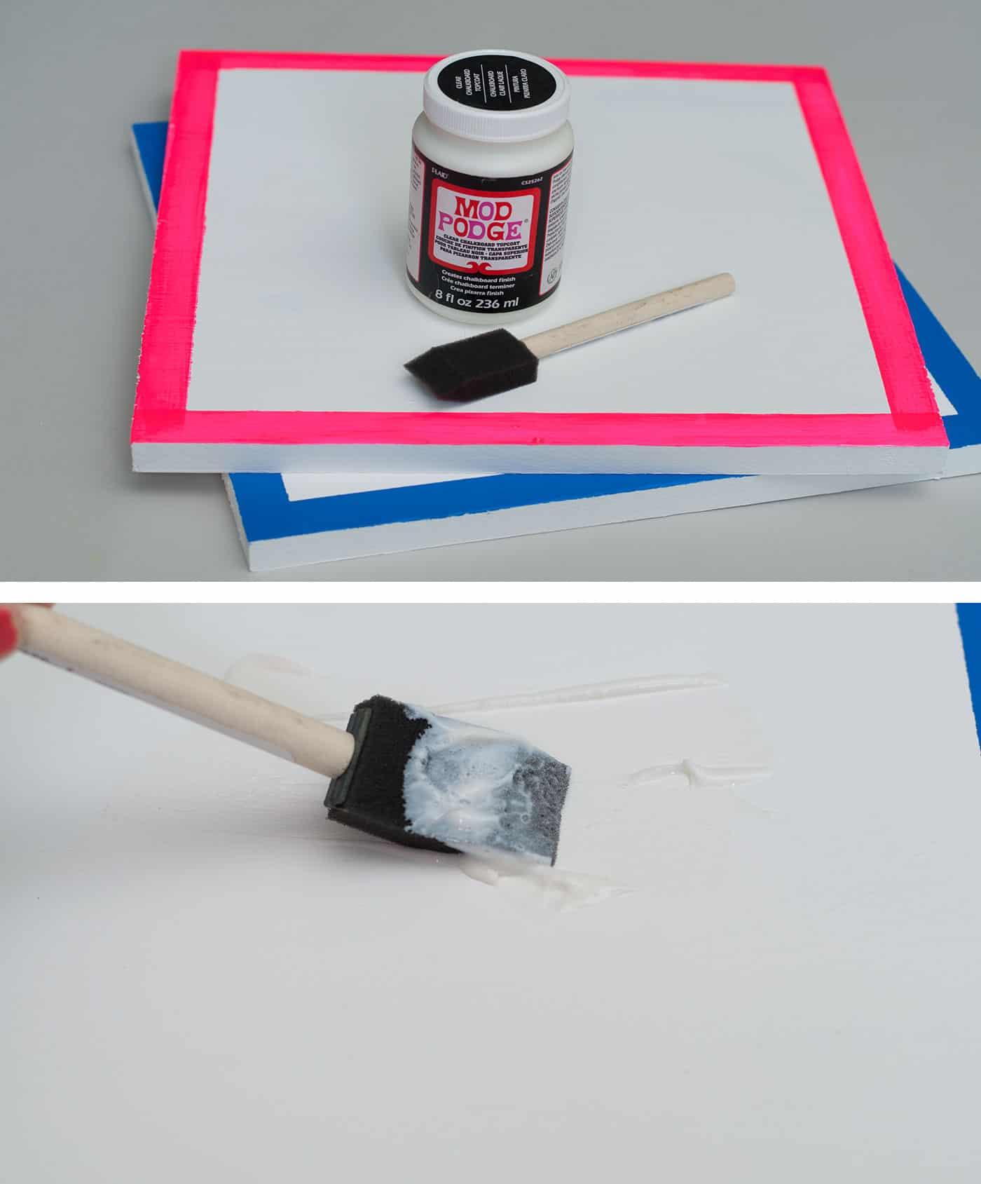 DIY Chalkboard Craft