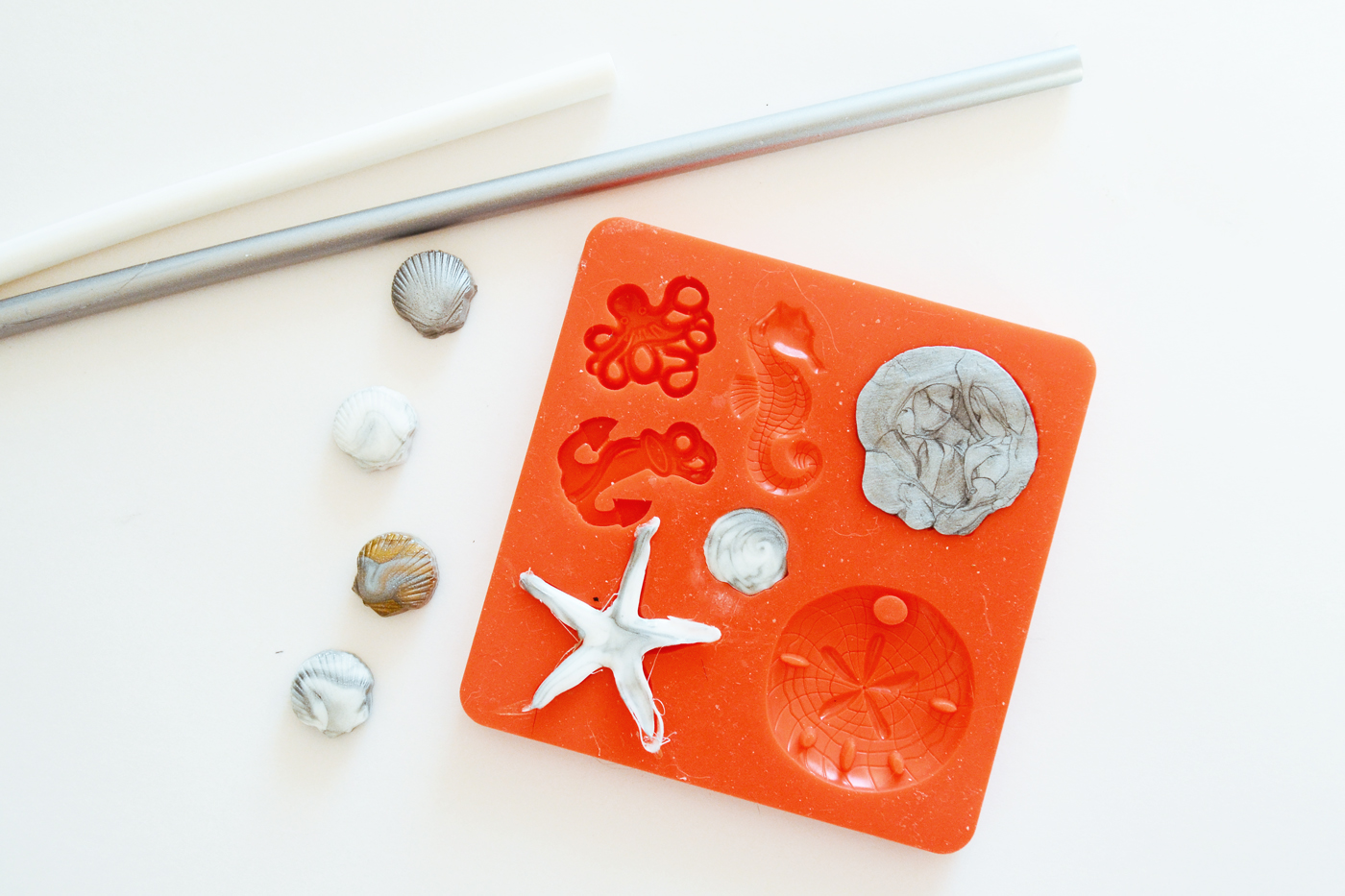 mod melt mold beach starfish
