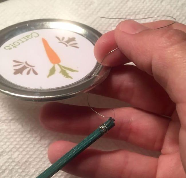 Garden markers step 5