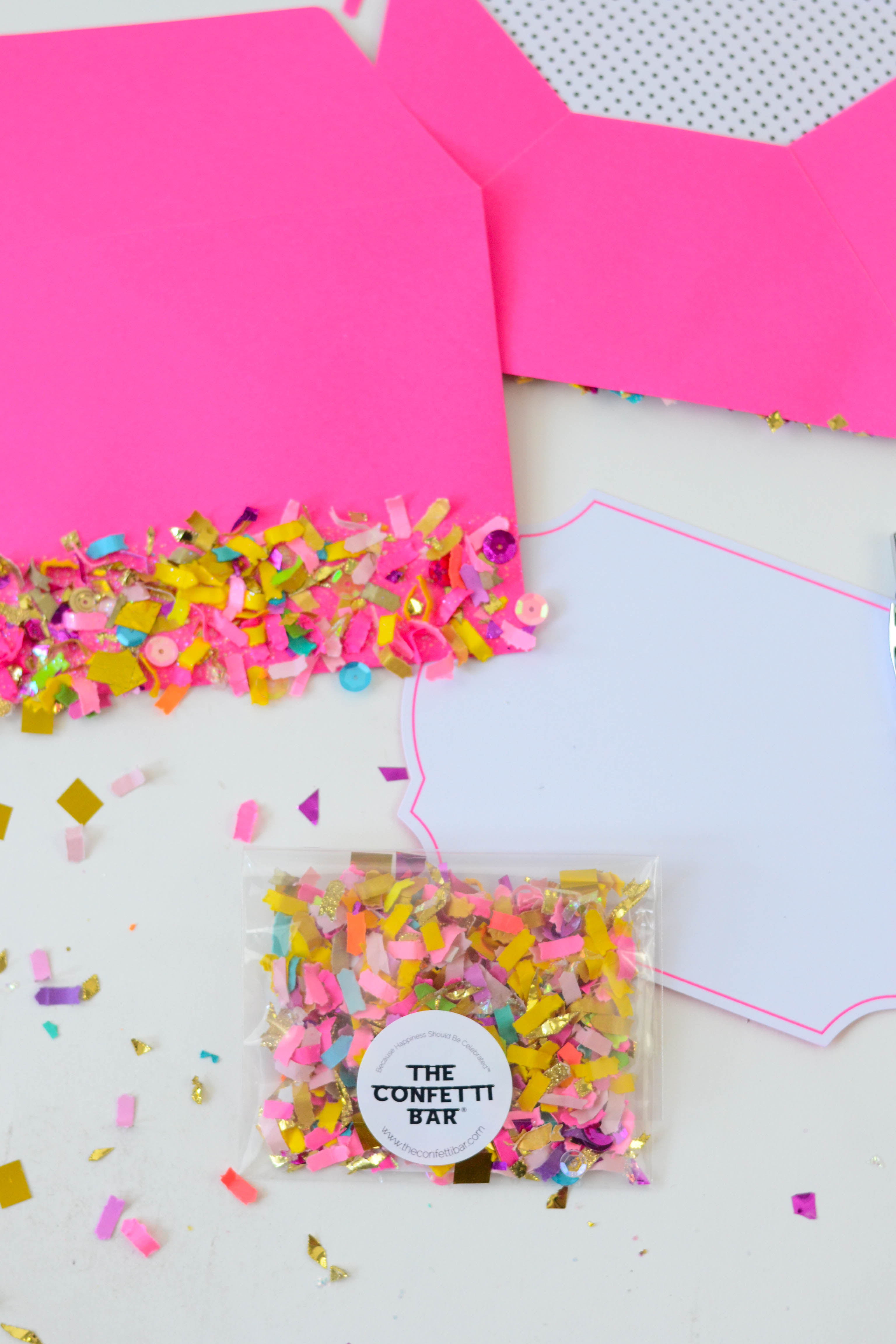 how to make wedding confetti