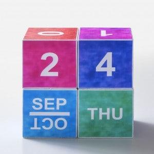 Watercolor perpetual calendar (with free...