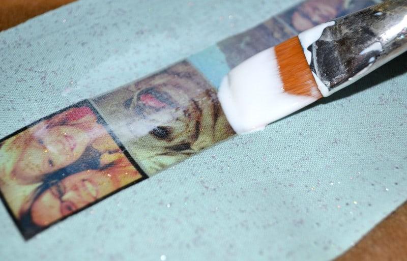 DIY Burlap Bookmark 6