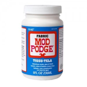 Learn all about the Fabric Mod Podge formula! Find out what it is, how to use it, and see some unique projects you can make.