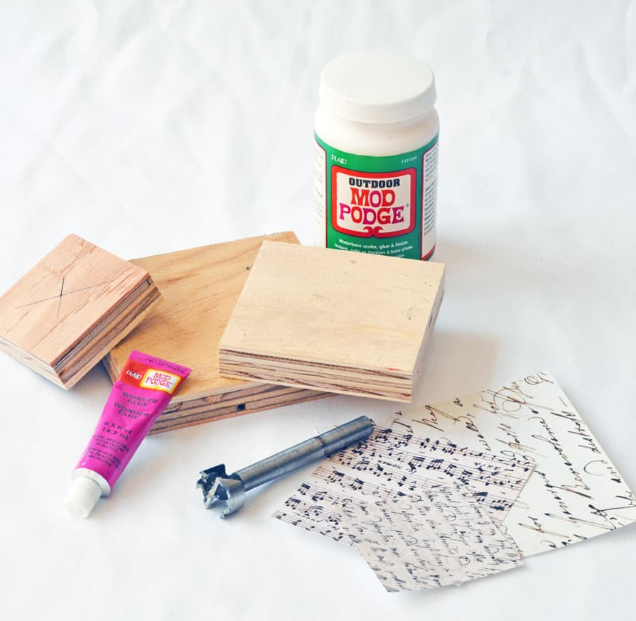 How to remove mod podge from wood