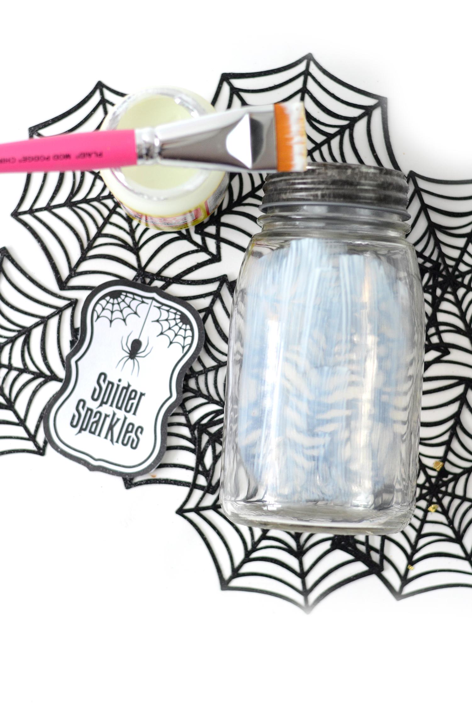 Halloween Confetti Jars