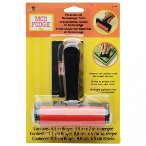 Mod Podge Brayer professional decoupage supplies