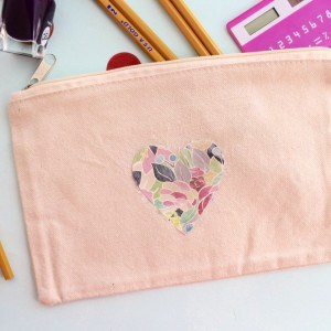 Scrapbook paper image transfer: DIY bag