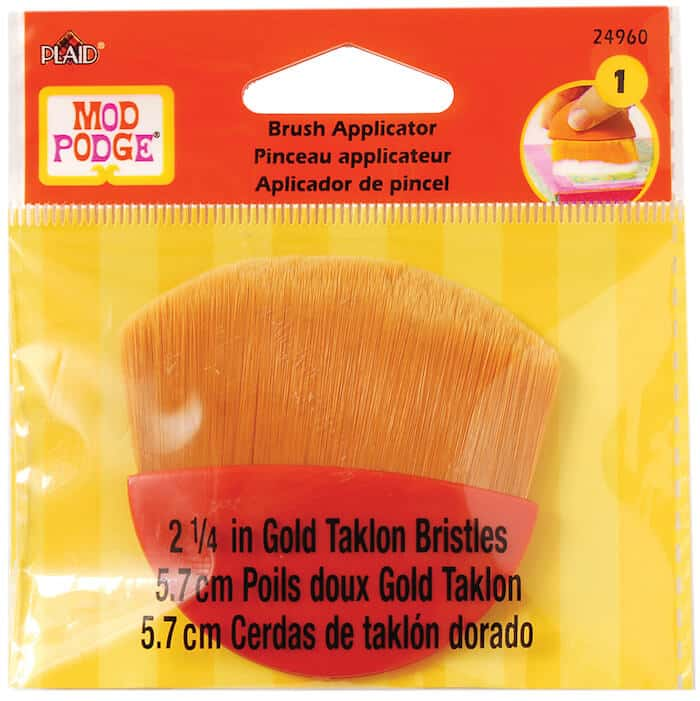 Mod Podge brush applicator