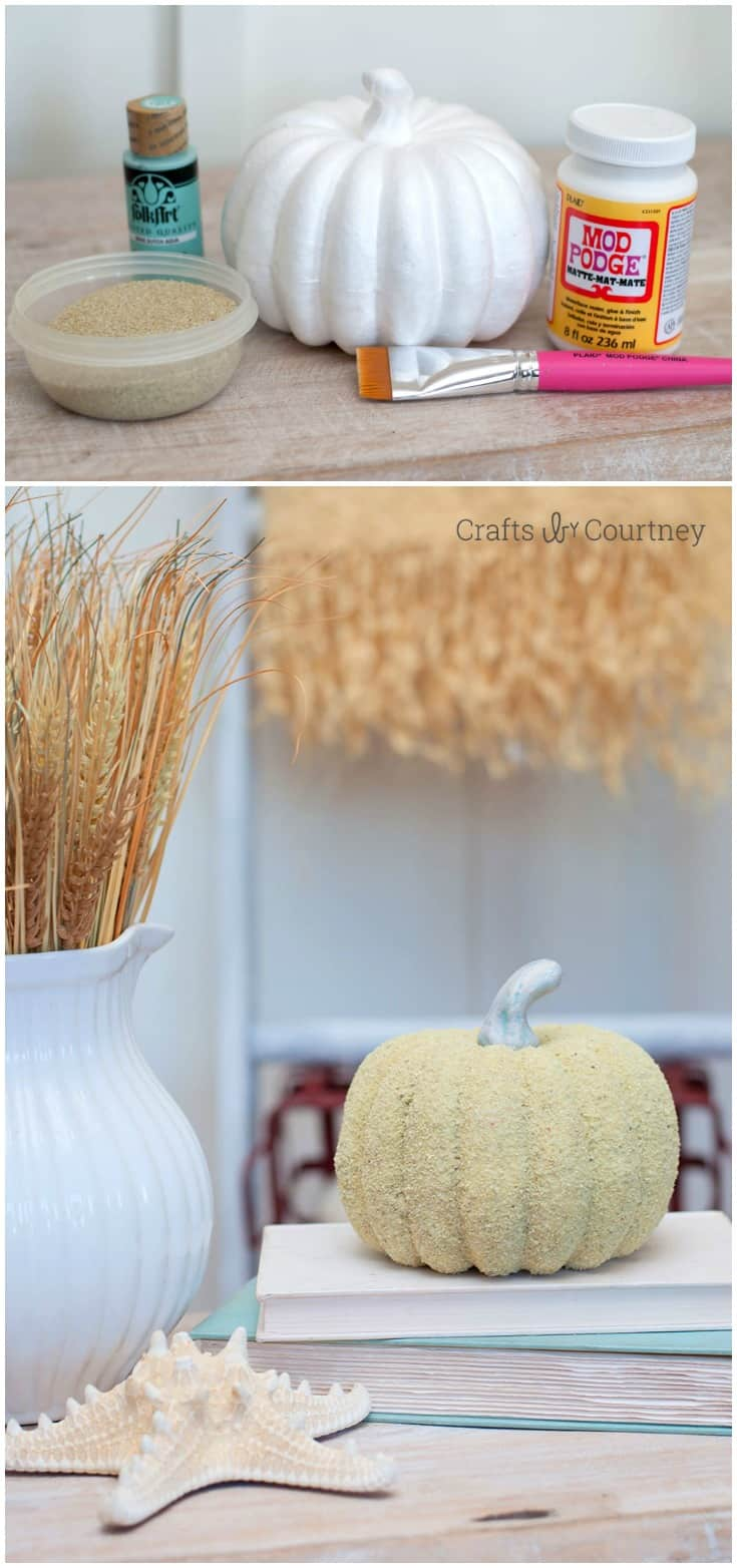 Have you ever thought about giving your fall pumpkins the