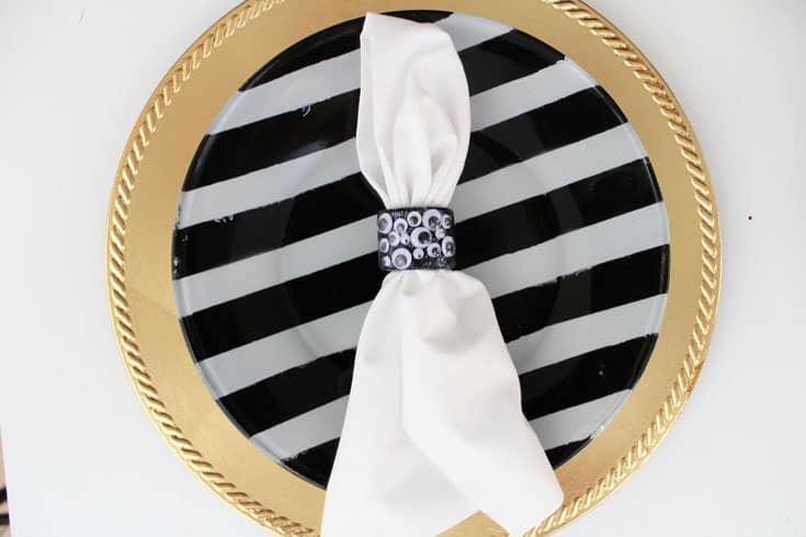 Halloween napkin rings