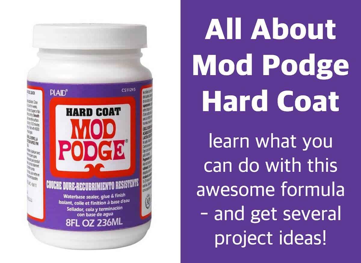 all about mod podge hard coat mod podge rocks