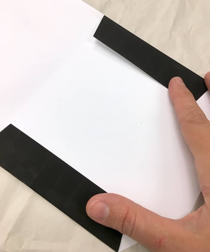 Fold in the sides of the envelope