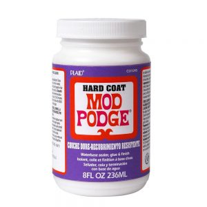 All About Mod Podge Hard Coat