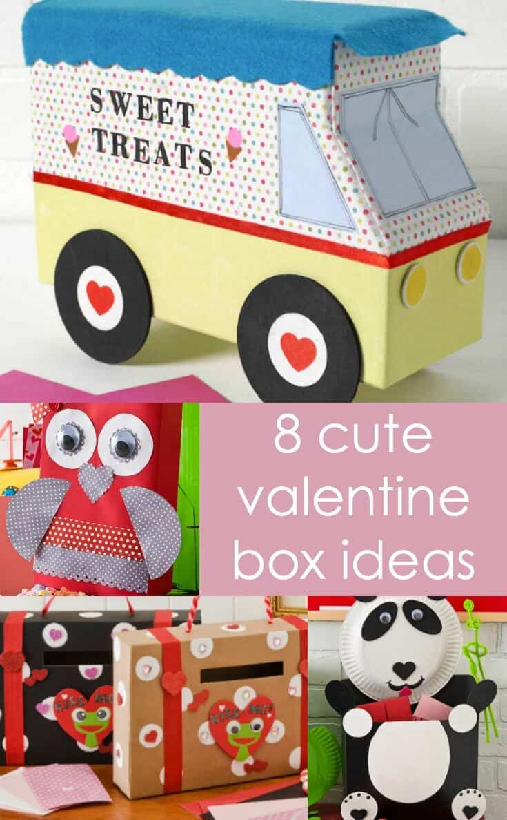 8 ideas for valentine boxes