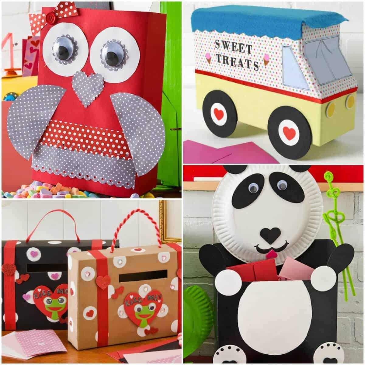 Ideas For Decorating Valentine Box: 8 Ideas For Valentine Boxes