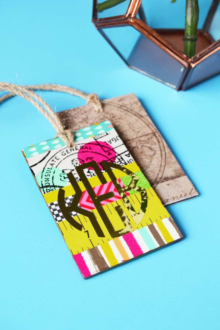 create luggage tags