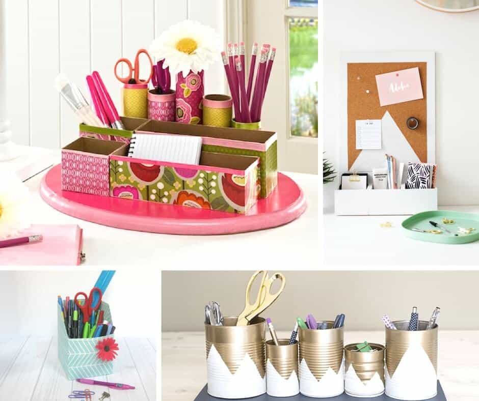 Diy Desk Organizer Design Decoration